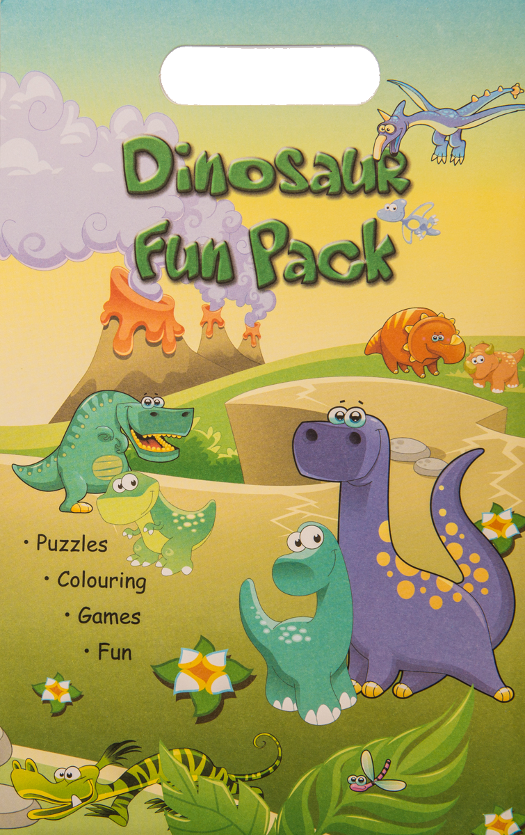 DINOSAUR FUN PACK